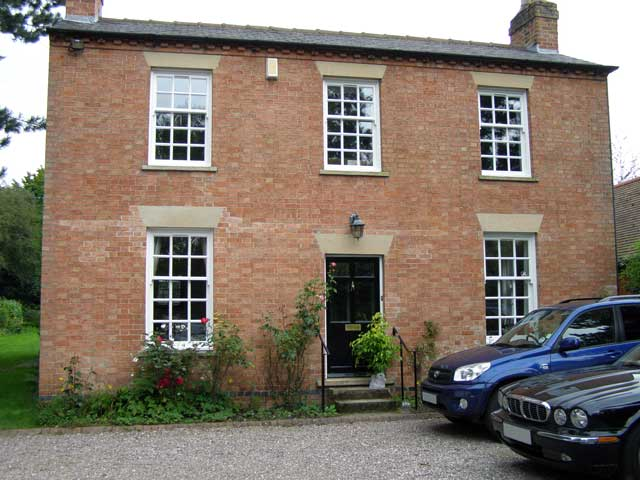 Front Elevation Before And After : Conservation area architect lee tombs nottingham uk